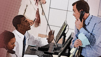 Manage Help Desk Staffing icon / link