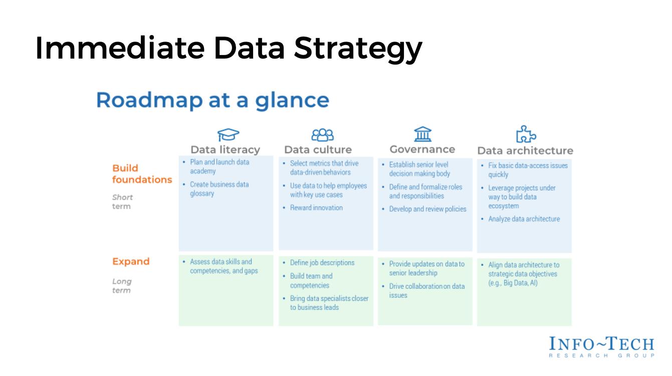 Immediate Data Strategy