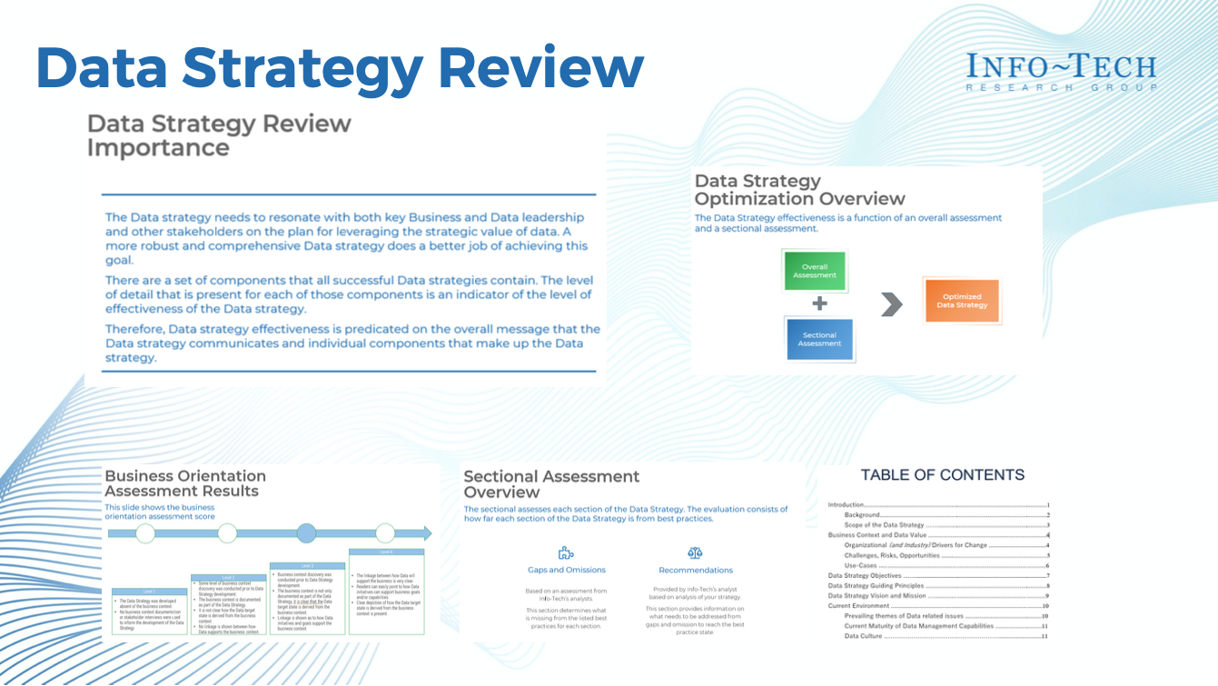 Data Strategy Review document