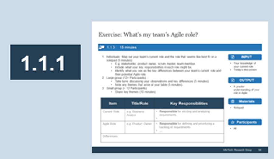 Screenshot of activity 1.1.1