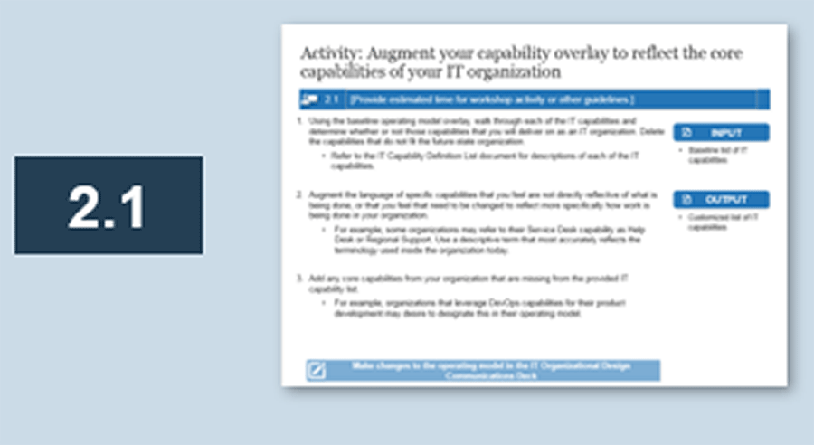 Screenshot of activity 2.1